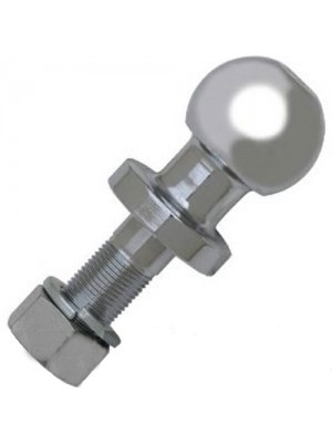 Heavy Duty Chrome Plated 2inch (50mm) Tow Ball 3500lb Capacity