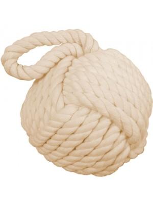 Brand New Nautical Rope Knot Doorstop Door Stopper - Natural