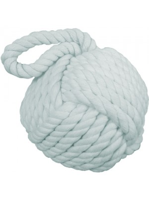 Brand New Nautical Rope Knot Doorstop Door Stopper - Blue