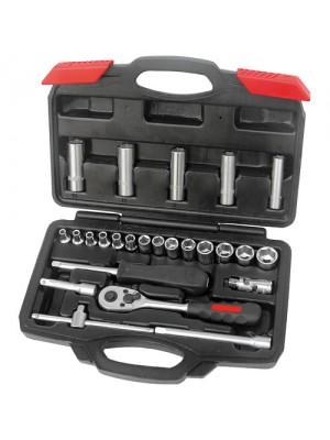 Mechanics Professional 25 Piece 1/4 Inch Drive Dr Socket Set