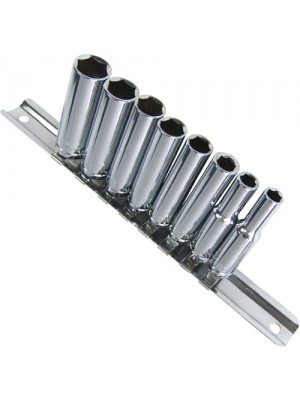 Pro Quality 9 Piece 1/4 Inch Drive Deep Socket Set