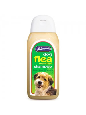 Johnsons Dog Flea Cleansing Shampoo Sensitive Shampoo 125ml