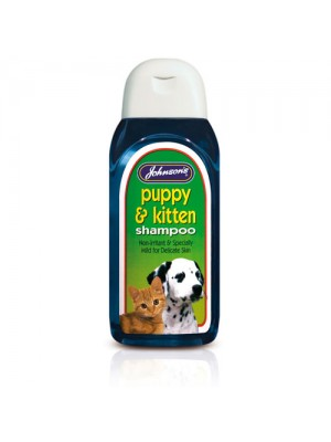 Johnson's Puppy And Kitten Shampoo Non-Irritant For All Breeds!