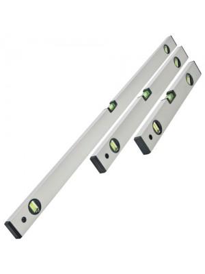 XTOOLS 3 PIECE BUILDERS SPIRIT LEVEL SET - 400, 600, 1000mm
