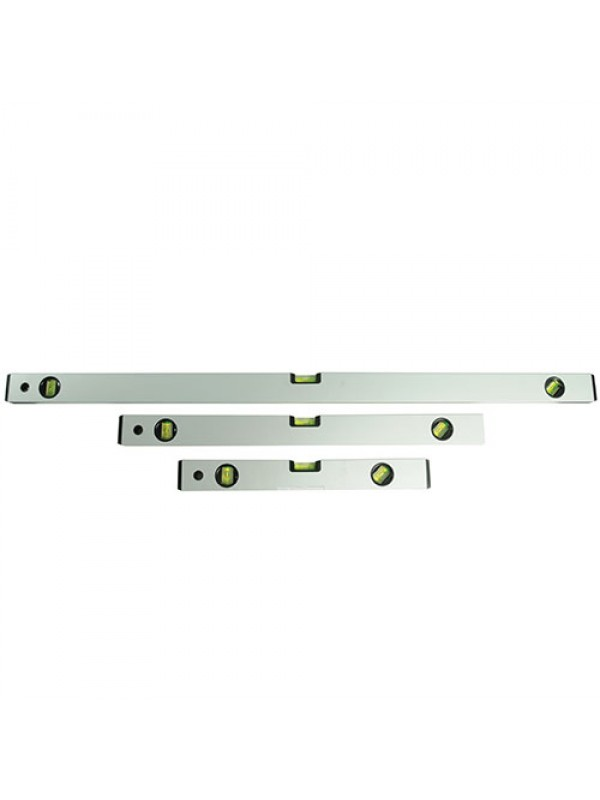 XTOOLS 3 PIECE BUILDERS SPIRIT LEVEL SET - 400, 600, 1000mm