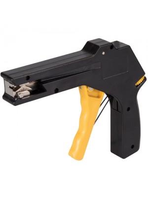Silverline Cable Tie Gun Adjustable Tension Tightens Flush Cuts