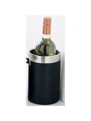 New Stainless Steel Hammered Black Enamel Bottle Cooler
