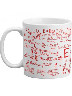 Freelogix E=mc² Maths Equation Student Teachers Novelty Gift Mug