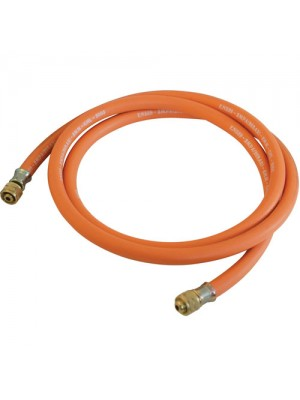 Brand New 2m Butane Propane Gas Hose With Connectors 20bar