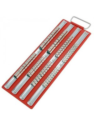 80 Sockets Large Socket Rack Rail Tray Tool Storage Box