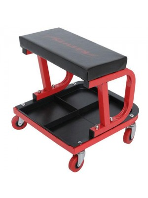 Pneumatic Mechanic Garage Workshop Steel Creeper Car Seat Tool