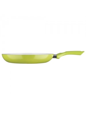 Ecocook Non Stick Frying Pan Frypan 24cm Lime Without Lid