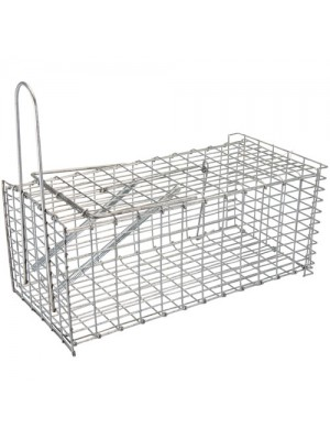 Humane Rat Trap Live Animal Catcher No Poison Cage Pest Control