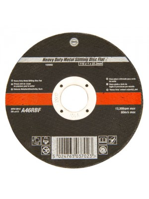115mm Ultra Thin 1mm 4.5 Inch Wide Metal Cutting Disc