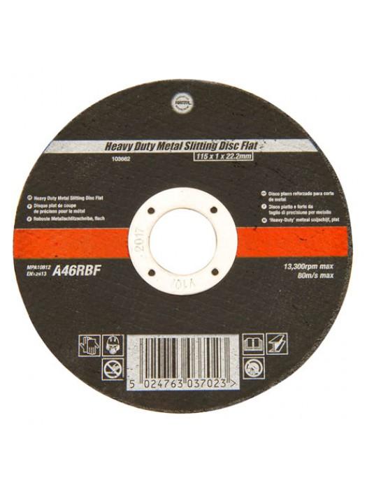 115mm Ultra Thin 1mm 4.5 Inch Wide Metal Cutting Disc