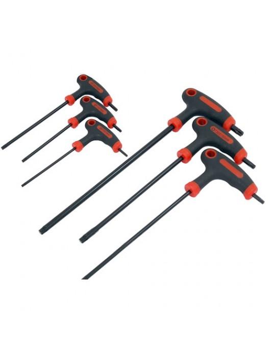 Torx Star T Handle Allen Key Tool Set T10 T15 T20 T25 T30 T40