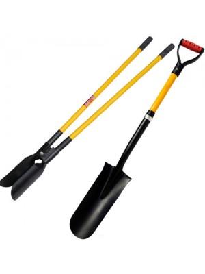 Fibreglass Handle Drain Spade and Post Hole Digger Shovel