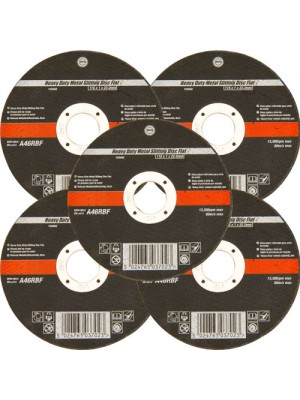 5pc 115mm Ultra Thin 1mm 4.5 Inch Wide Metal Cutting Discs