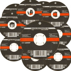 10 Pack 115mm Ultra Thin 1mm 4.5 Inch Wide Metal Cutting Discs