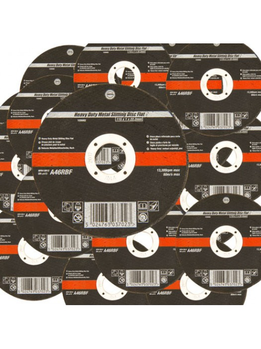 20 Pack 115mm Ultra Thin 1mm 4.5 Inch Wide Metal Cutting Discs