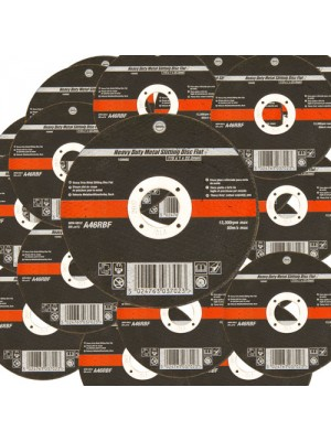 25 Pack 115mm Ultra Thin 1mm 4.5 Inch Wide Metal Cutting Discs