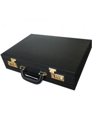 Executive Faux Leather Briefcase Laptop Hand Luggage Pilot Case