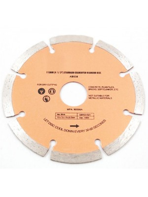 115mm x 22.2mm Mortar Raking Diamond Disc (4.5 Inch)