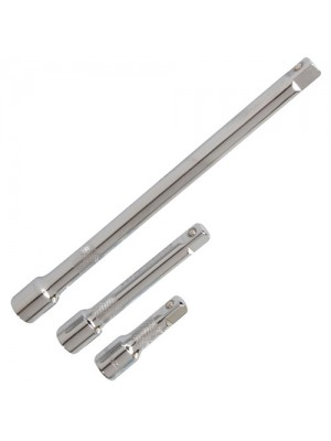 3 Piece Extension Bar Set 1/2inch Drive