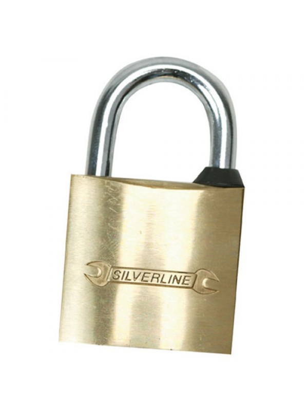 Solid Brass Body Padlock Gym Multi Pin Tumbler With 3 Keys