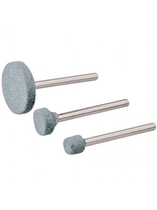 3 Piece Rotary Tool Grinding Stone Set Sharpening Sanding Kit