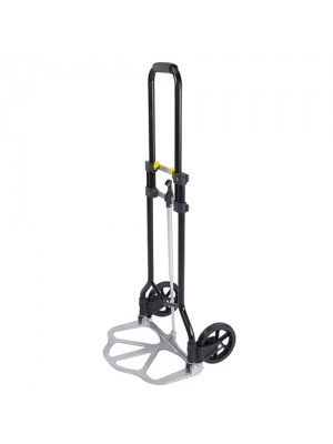 Steel Frame Folding Hand Truck With Telescopic Handle - 45KG