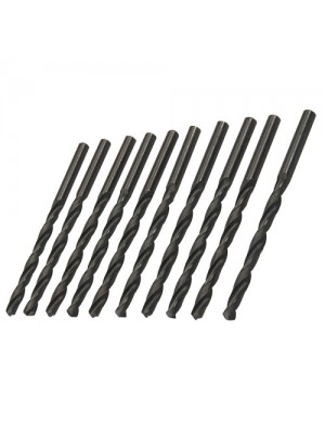 10 Pack Metric HSS-R Jobber Bits Drill Bit Set - 5.5mm