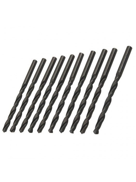 10 Pack Metric HSS-R Jobber Bits Drill Bit Set - 5.5mm