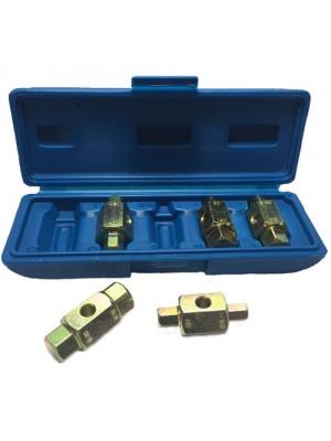 6 Pc Oil Sump Fill Drain Plug Brake Key Set