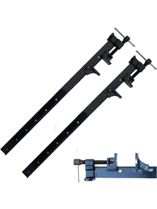 2 Pack Sash Clamps Cast Iron Heavy Duty T-Bar 4Ft (1200mm)