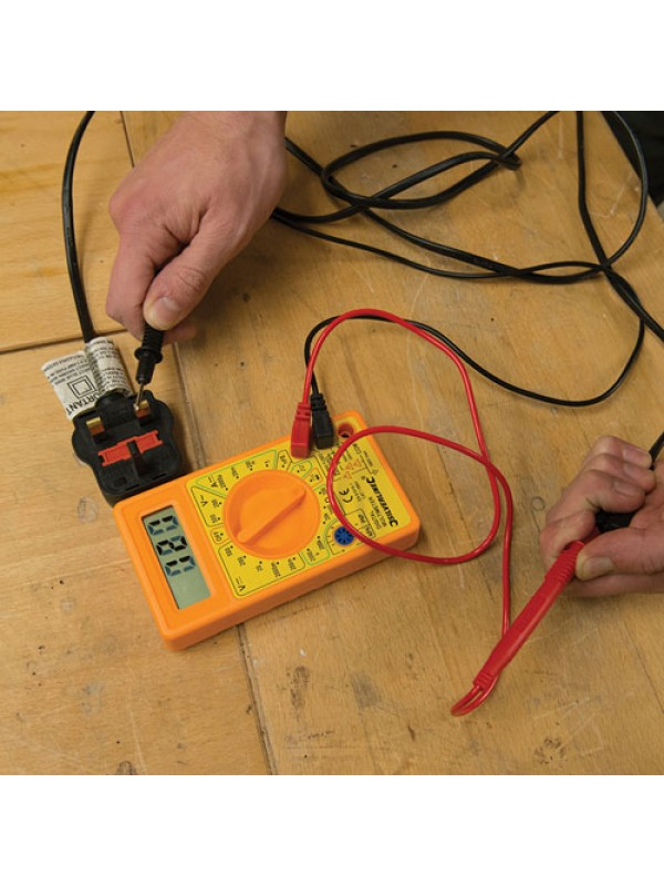 Hand Held DC AC Digital Multimeter Tester Tool