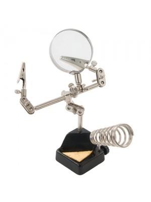 Heavy Duty Helping Hands Magnifier Soldering Hobby Tool