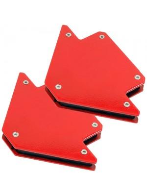 Set of 2 25lb Magnetic Welding Holders Welder Magnet Arrows