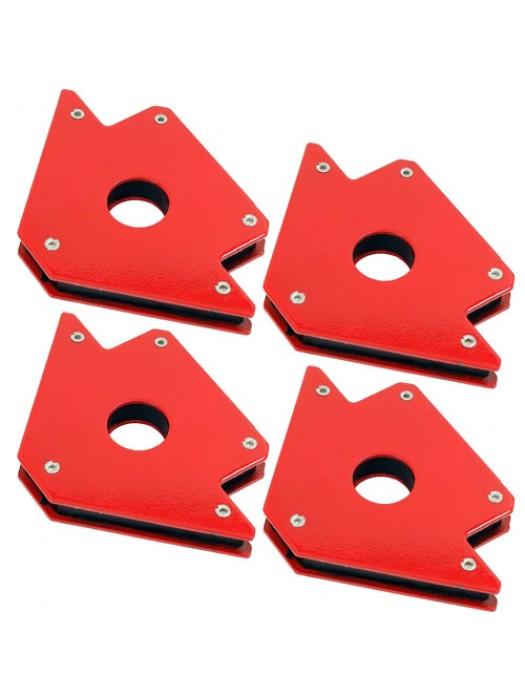 Set of 4 50lb Magnetic Welding Holders Magnet Arrows Welder