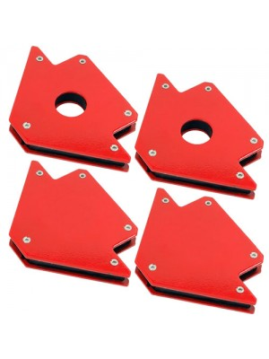 Set of 4 25lb & 50lb Magnetic Welding Holders Magnet Arrows