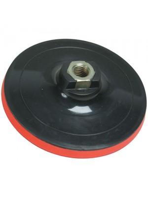 Hook & Loop Backing Pad 125 x 10mm Polisher Sander M14 Angle