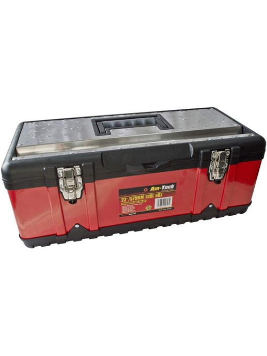 Heavy Duty 23 Inch Stainless Steel Tool Box Chest Storage Case