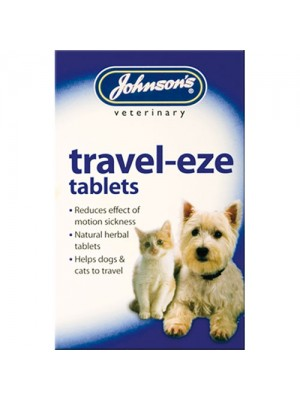 Johnsons Travel-eze Motion Sickness Relief For Cats & Dogs