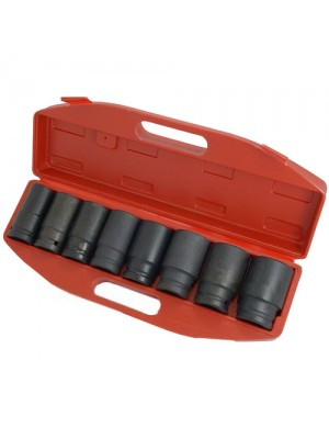 Professional 8 Piece 3/4 Inch Drive Deep Impact Socket Set