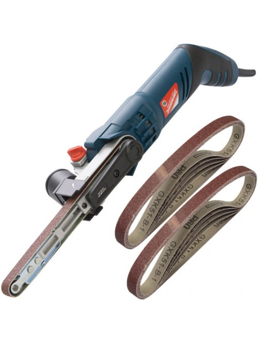 Silverline Power File Belt Sander With 12 Sanding Belts