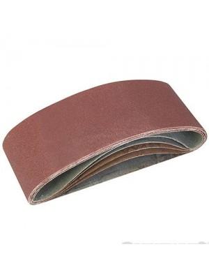 5 Pack Of 40, 60, 2 x 80, 120G Grit Sanding Belts