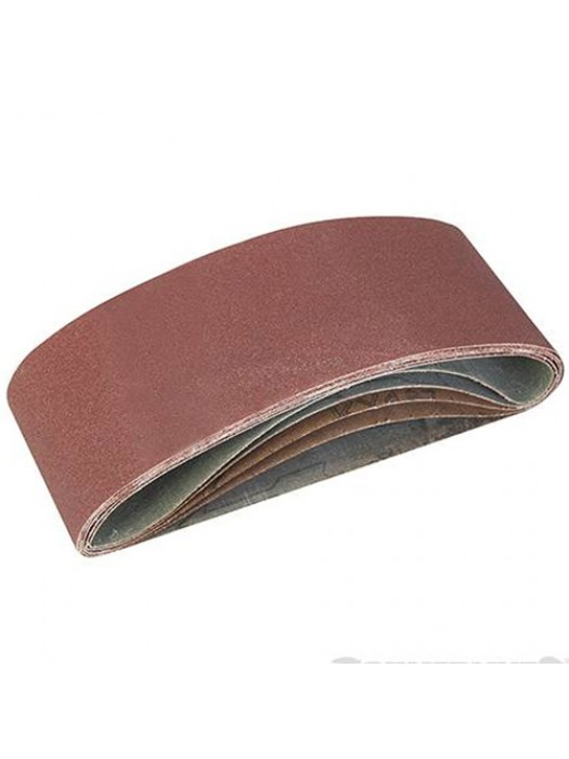 5 Pack Of 40, 60, 2 x 80, 120G Grit Sanding Belts