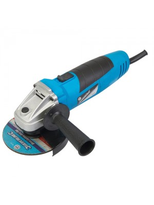 Silverline 500W Electric Angle Grinder 4.5 Inch 115mm