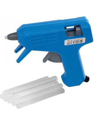 Electric Hot Melt Mini Glue Gun Kit With 52 Adhesive Glue Sticks