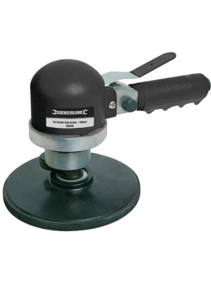 Silverline Heavy Duty 6 Inch Air Orbital Dual Action Sander